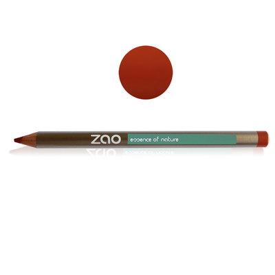 ZAO MAKE UP - Crayon Multifonction - 608 BRUN ORANGE