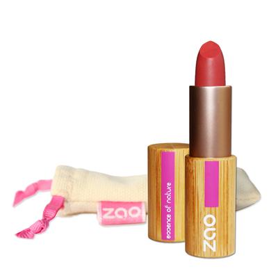 ZAO MAKE UP - Rouge à Lèvres Mat - 464 ROUGE ORANGE