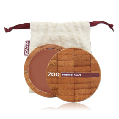 ZAO MAKE UP - Fond de Teint Compact - 738 NOISETTE
