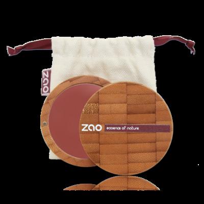 ZAO MAKE UP - Fond de Teint Compact - 740 ACAJOU SOMBRE
