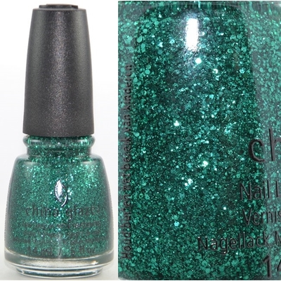 CHINA GLAZE - Vernis à Ongles Collection Twinkle - PINE-ING FOR GLITTER