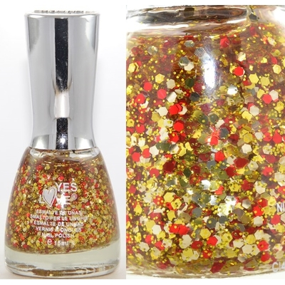 YES LOVE - Vernis à Ongles Collec Glitter - G3-6