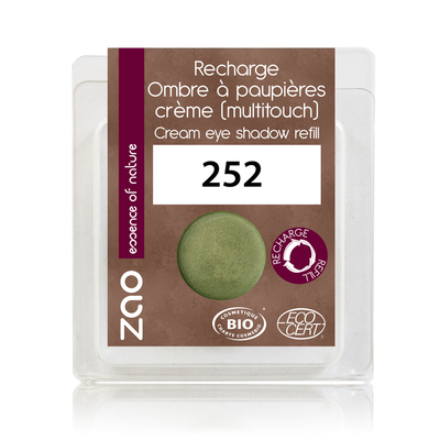 ZAO MAKE UP - Fard à Paupières Creme - 252 BAMBOU Recharge