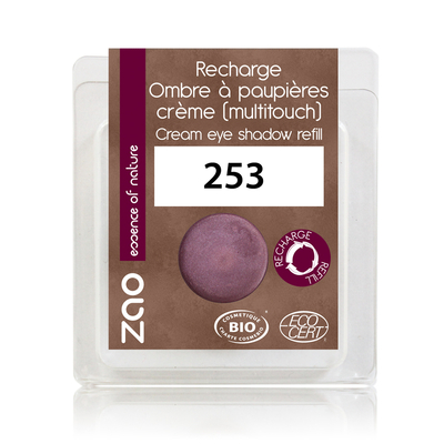 ZAO MAKE UP - Fard à Paupières Creme - 253 AMETHYSTE Recharge