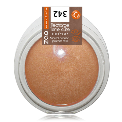 ZAO MAKE UP - Terre Cuite Minérale - 342 BRONZE CUIVRE Recharge