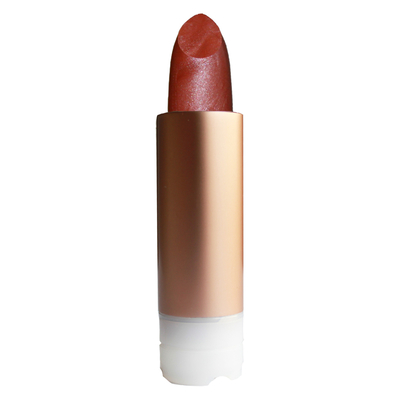 ZAO MAKE UP - Rouge à Lèvres Nacré - 404 BRUN ROUGE Recharge