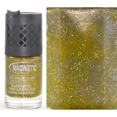 COLOR CLUB - Vernis Ongles Collection Magnetic Force Glitter  - CHARGED UP