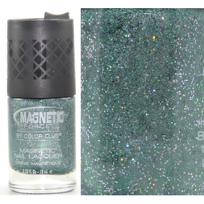 COLOR CLUB - Vernis Ongles Collection Magnetic Force Glitter  - SHOCK TACTIC
