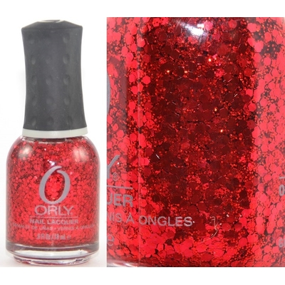 ORLY - Vernis Ongles Collection Flash Glam FX - ROCKETS RED GLARE