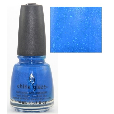 CHINA GLAZE - Vernis à Ongles Collection Ink - BLUE SPARROW (NEON)
