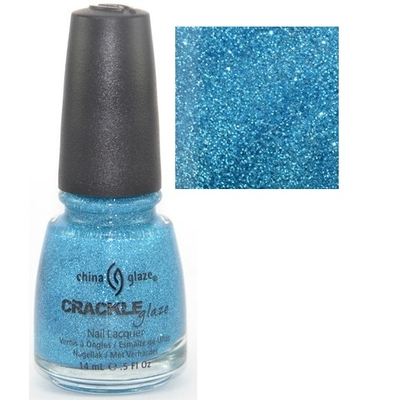 CHINA GLAZE - Vernis à Ongles Collection Crackle Glitter - GLEAM ME UP
