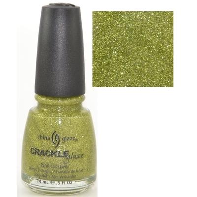 CHINA GLAZE - Vernis à Ongles Collection Crackle Glitter - JADE-D