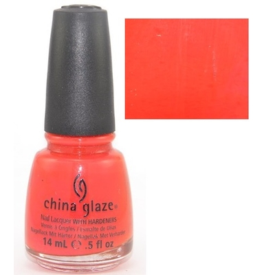 CHINA GLAZE - Vernis à Ongles Collection Wicked - ROGUISH RED