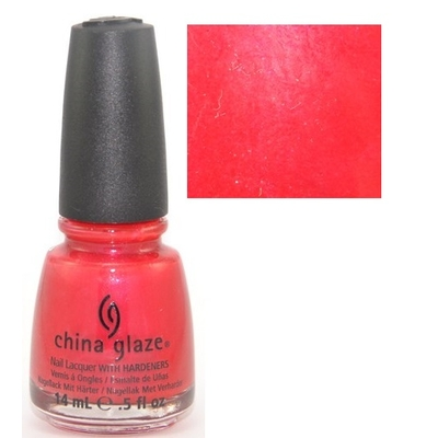 CHINA GLAZE - Vernis à Ongles Collection Fiji Fling - HOT LAVA LOVE