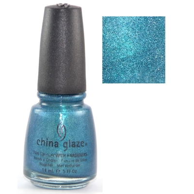 CHINA GLAZE - Vernis Ongles Collection Tronica - TECHNO TEAL