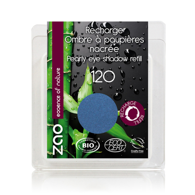 ZAO MAKE UP - Fard à Paupière Nacré - 120 BLEU ROY recharge