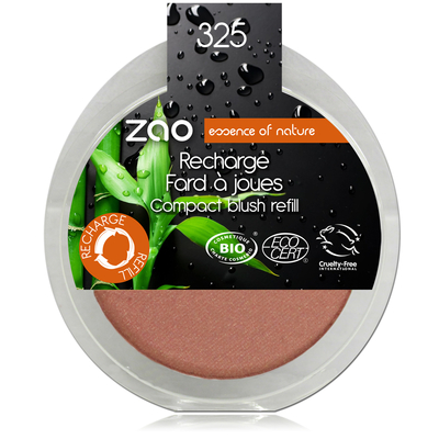 ZAO MAKE UP - Fard à joues - 325 CORAIL DORE Recharge
