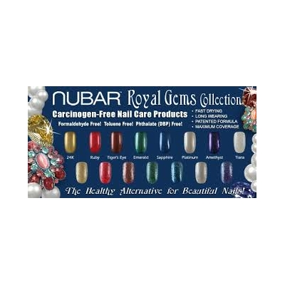 NUBAR - Vernis Ongles Collection Royal Gems - PLATINUM
