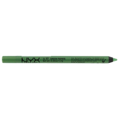 NYX COSMETICS - Crayon Yeux Slide On Pencil - 17 GREEN PAPAYA