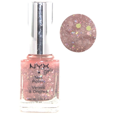 NYX - Vernis à Ongles Collection Girls Nail Polish - DYNAMIC GLITTER