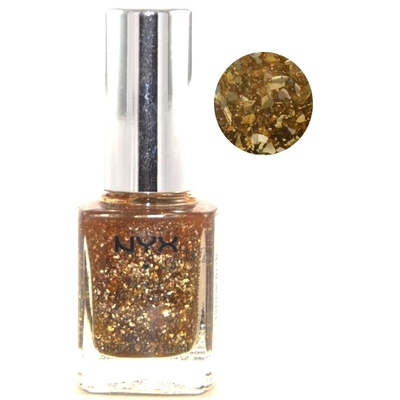 NYX - Vernis à Ongles Collection Girls Nail Polish - GILDED GLITTER