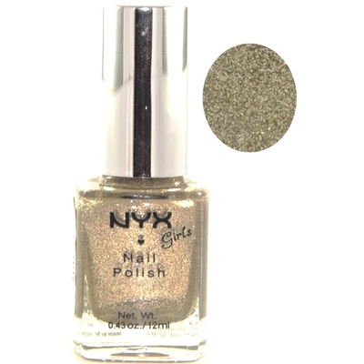 NYX - Vernis à Ongles Collection Girls Nail Polish - MUSHROOM GLITTER