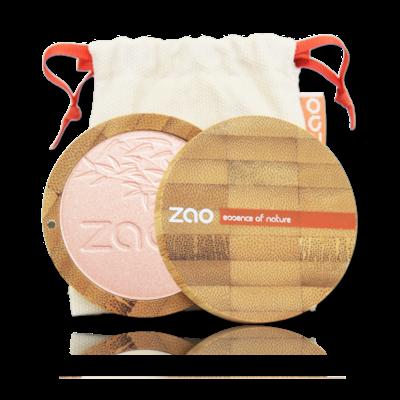 ZAO MAKE UP - Shine Up Powder - 310 Champagne Rosé