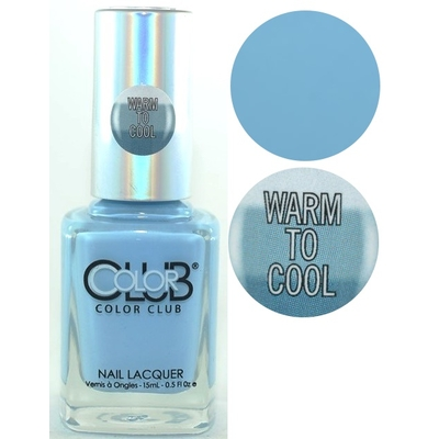 COLOR CLUB - Vernis Ongles Thermique Collec Heat Index - DIVA FAN