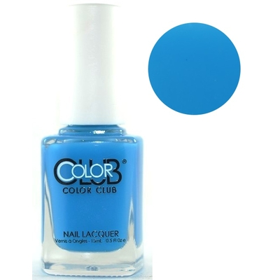 COLOR CLUB - Vernis Ongles Sheer / Aquarelle Collec Pop Wash - OUT OF THE BLUE
