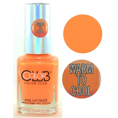 COLOR CLUB - Vernis Ongles Thermique Collec Heat Index - WHAT'S UP SUN ?