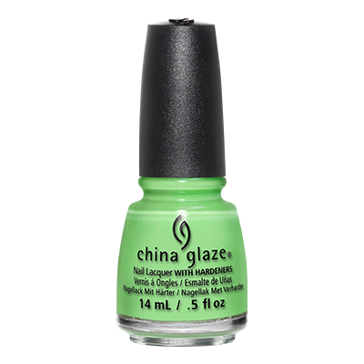 CHINA GLAZE - Vernis Ongles Collec Lite Brites - LIME AFTER LIME