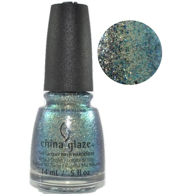 CHINA GLAZE - Vernis Ongles Collec Rebel - HOLO AT YA GIRL!