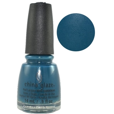 CHINA GLAZE - Vernis Ongles Collec Rebel - JAGGED LITTLE TEAL