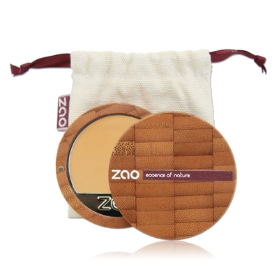 ZAO MAKE UP - Fond de Teint Compact - 728 Très Clair Ocre