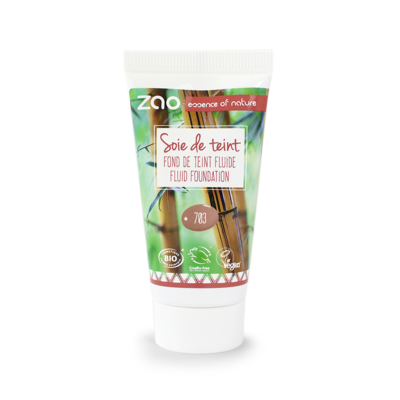 ZAO MAKE UP - Soie de Teint - 703 PETALE DE ROSE Recharge