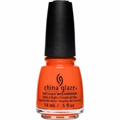 CHINA GLAZE - Vernis Ongles Collec Pastels - THAT'LL PEACH YOU