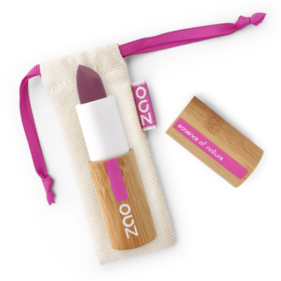ZAO MAKE UP - Rouge à Lèvres Soft Touch - 437 AUBERGINE