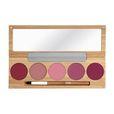 ZAO - Palette Rechargeable 5 Rouges à lèvres - KISS KISS BANG BANG