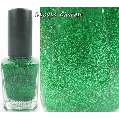 COLOR CLUB - Vernis Ongles Collection Glitter Vixen  - OBJECT OF ENVY