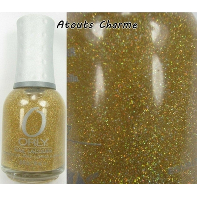 ORLY - Vernis Ongles Collec Prisma Gloss - GOLD