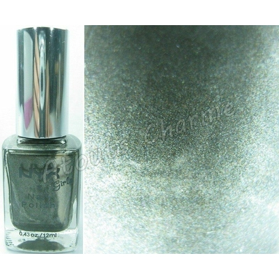 NYX - Vernis à Ongles Collection Girls Nail Polish - CHARCOAL PEARL
