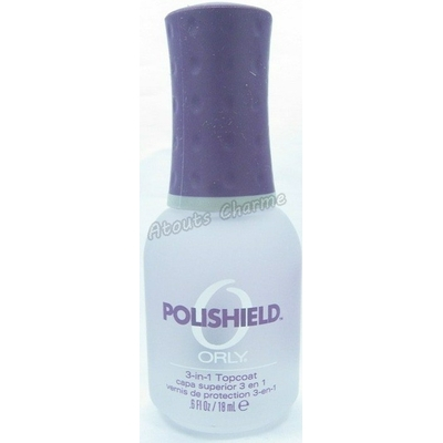 ORLY - Top Coat 3 en 1 pour Ongles - POLISHIELD