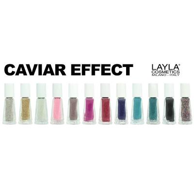 LAYLA - Collection - CAVIAR EFFECT NAIL ART
