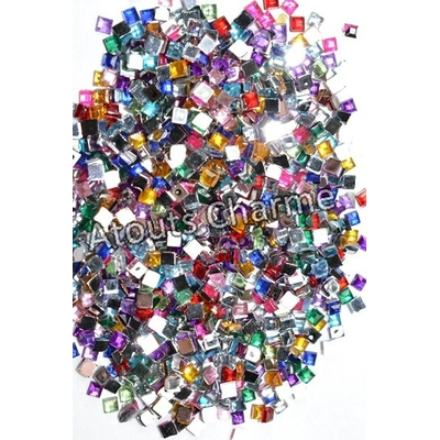 STRASS - Forme - CARRE 2mm x 100