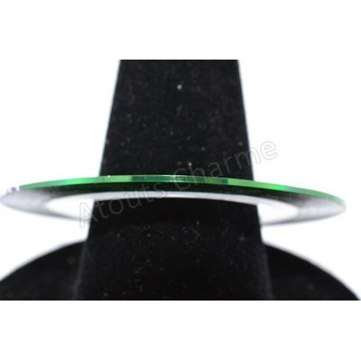 STRIPING TAPE - Nail Art Décoration - 15 Vert