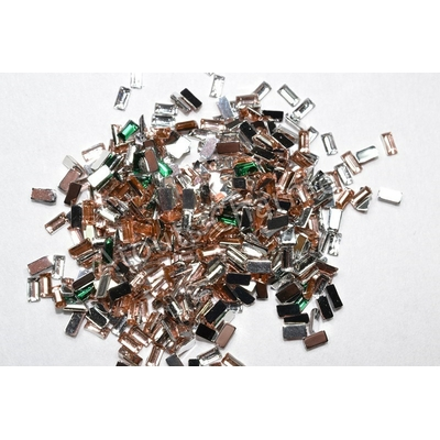 STRASS - Forme - RECTANGLE 3mm x 100