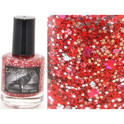 CROWSTOES - Vernis à ongles Collection Christmas 2012 - HOLLY AND HELLFIRE