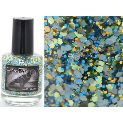 CROWSTOES - Vernis ongles Collec. Alice In Wonderland 2012 - I MAKE THE PATH