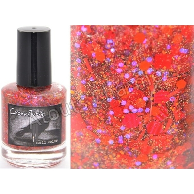 CROWSTOES - Vernis à ongles Collection Halloween 2012 - HELL HATH NO FURY