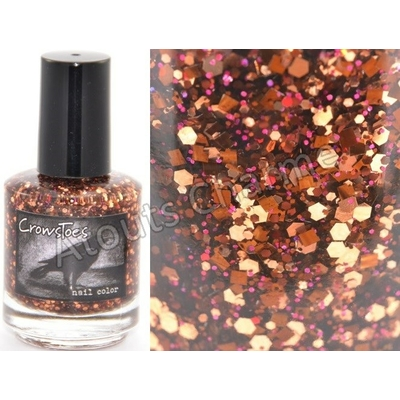 CROWSTOES - Vernis ongles Collec. ValenCrows - HEART SHAPED BOX OF HORSES&*T
